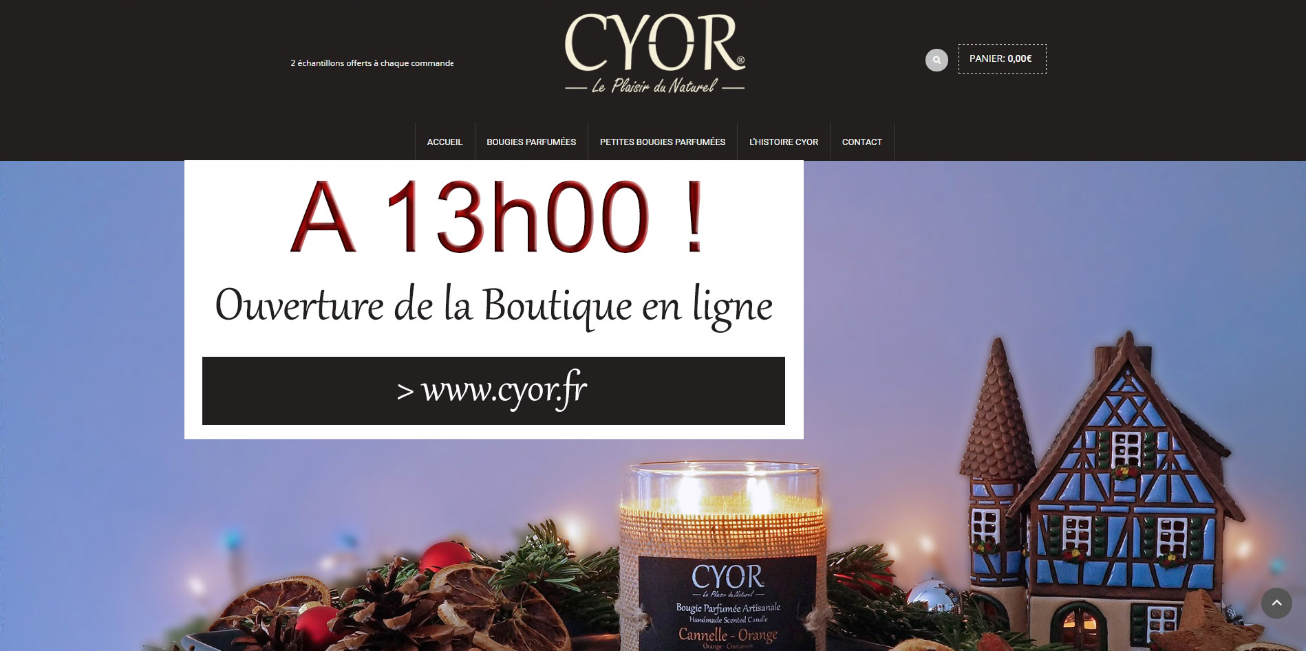 lancement boutique en ligne cyor cyor collection de bougies parfum es. Black Bedroom Furniture Sets. Home Design Ideas